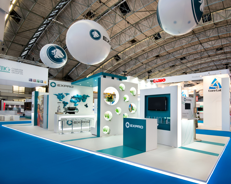 Modular Exhibition Stands London : Mems international exhibition contractors
