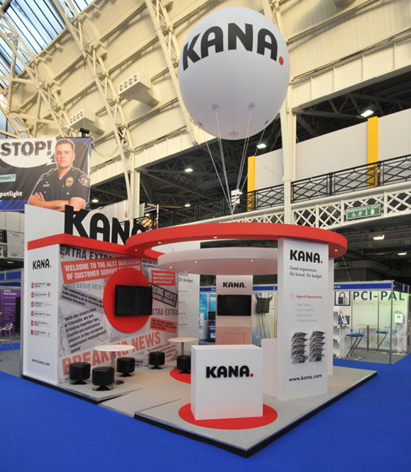 Custom Built Exhibition Stands : Custom stand design built exhibition stands