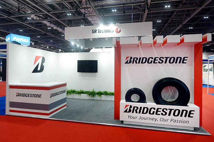 Custom Exhibition Stand Job : Custom exhibition stand portfolio built