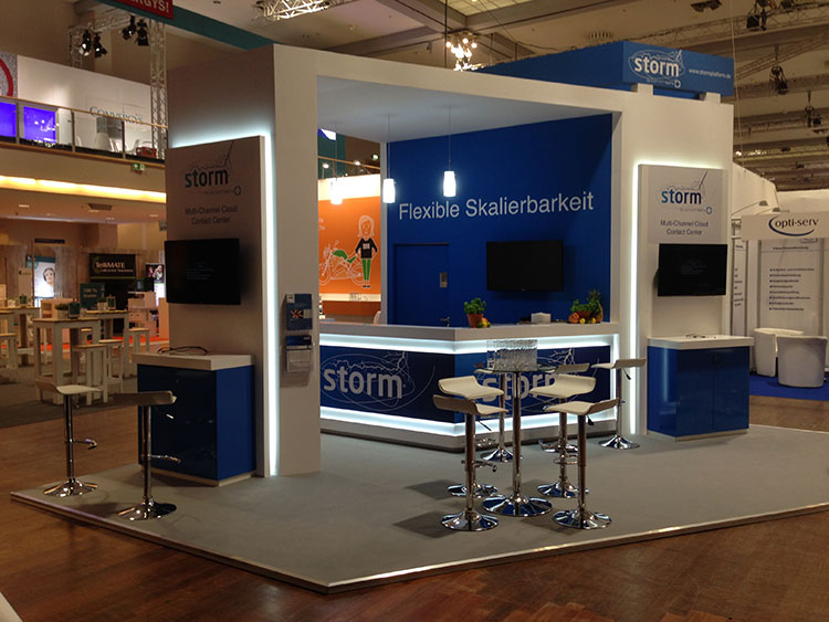 Custom Exhibition Stand Jobs : Custom stand design built exhibition stands