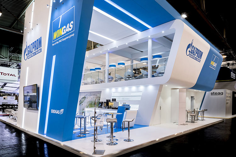 Exhibition Stand Double Decker : Custom stand design modular & system built exhibition stands