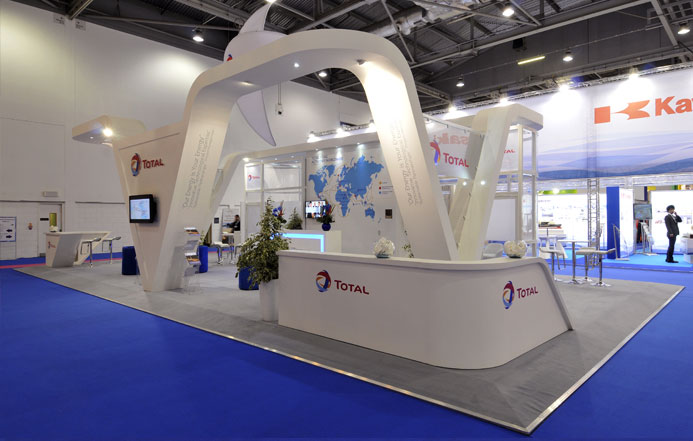 Custom Exhibition Stand Job : Custom stand design built exhibition stands