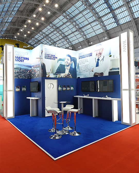 Modular Exhibition Stands London : System modular stand portfolio exhibition stands