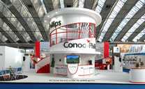 Custom Exhibits Portfolio - Conoco Phillips - Gastech 2012