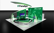 Custom Exhibit Portfolio - Paradigm - Tender - EAGE 2012
