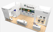 Custom Exhibits Portfolio - Tenaris - Offshore Europe 2012