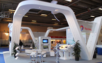 Custom Exhibits Portfolio - Total - EAGE & GASTECH 2012